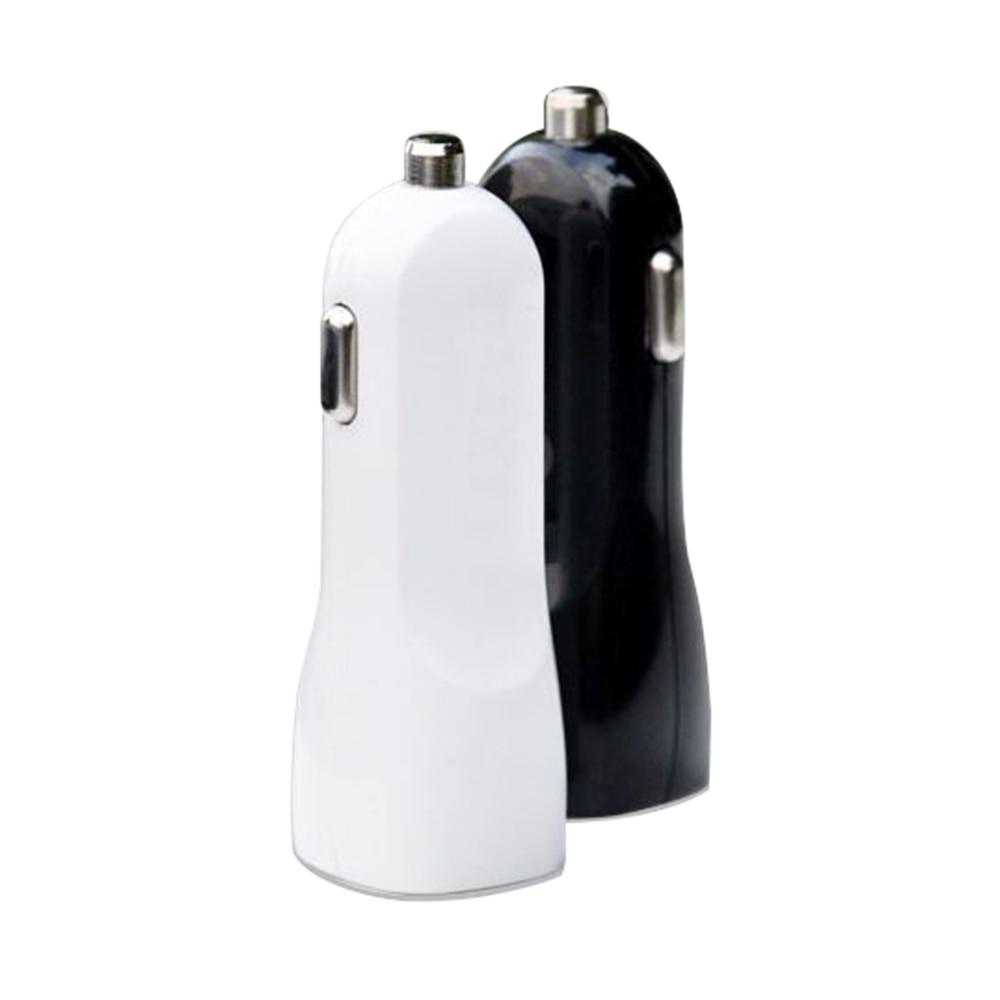 Cargador de coche usb doble duckbrilled 2.1A + 1A adaptador de cargador de coche USB para iphone 4 5 6 7 para samsung para htc 300 piezas