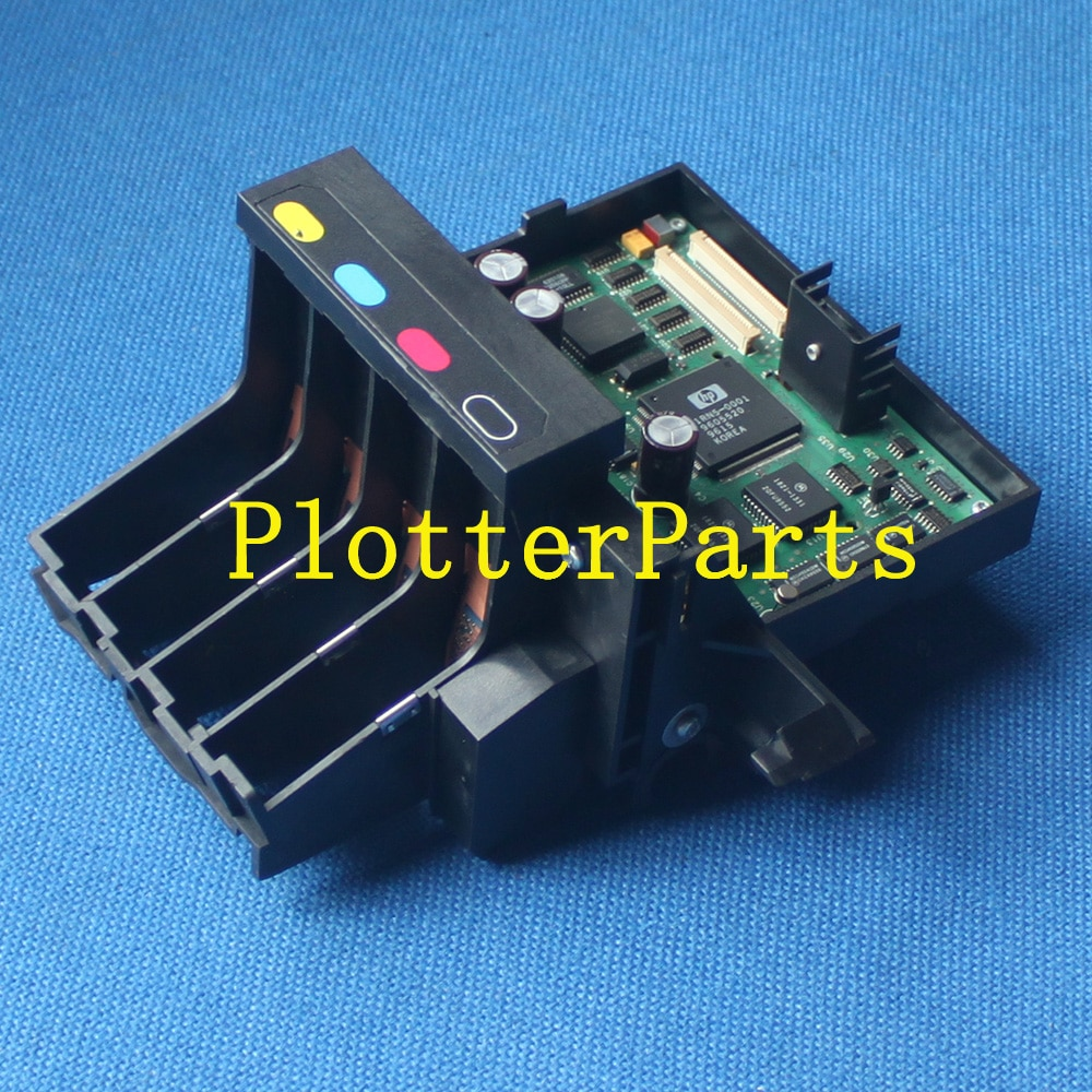 Ensamblaje del carro de la pluma de C4705-60113 para HP DesignJet 700 750C 755CM piezas usadas del trazador