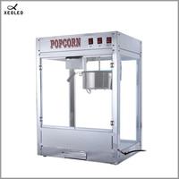 XEOLEO Popcorn Maker 1000W Spherical Popcorn Machine Oil-popped Commercial Puffed Rice Maker Electric Popcorn make machine CE