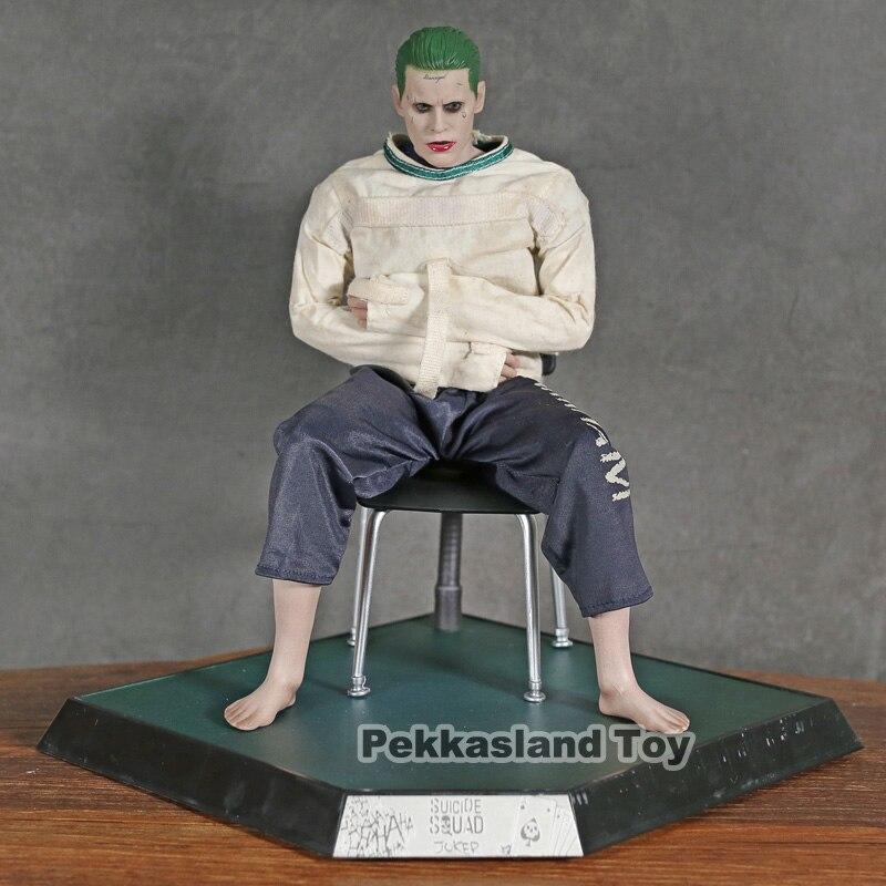Juguetes novedosos, película DC Suicide Squad Joker en Hospital siquiatrico, Arkham Asylum versión PVC, figura de acción, juguete de modelos coleccionables