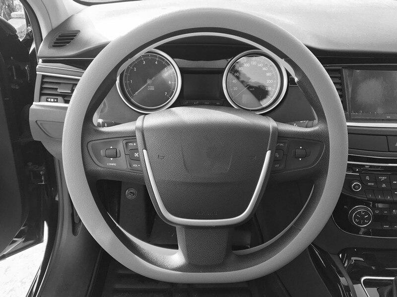 Estilo do carro de silicone antiderrapante volante capa para citroen berlingo c-zero c1 c2 c8 ds3 saxo jumpy n68 n1 n2 n0 accessorie