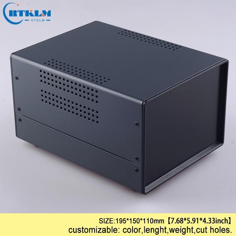 صندوق وصلات الحديد لتقوم بها بنفسك الضميمة ل علبة توزيع إلكترونيات الحديد معدات امدادات الطاقة حالات مخصص الحديد الكهربائية الضميمة 195*150*110 ...