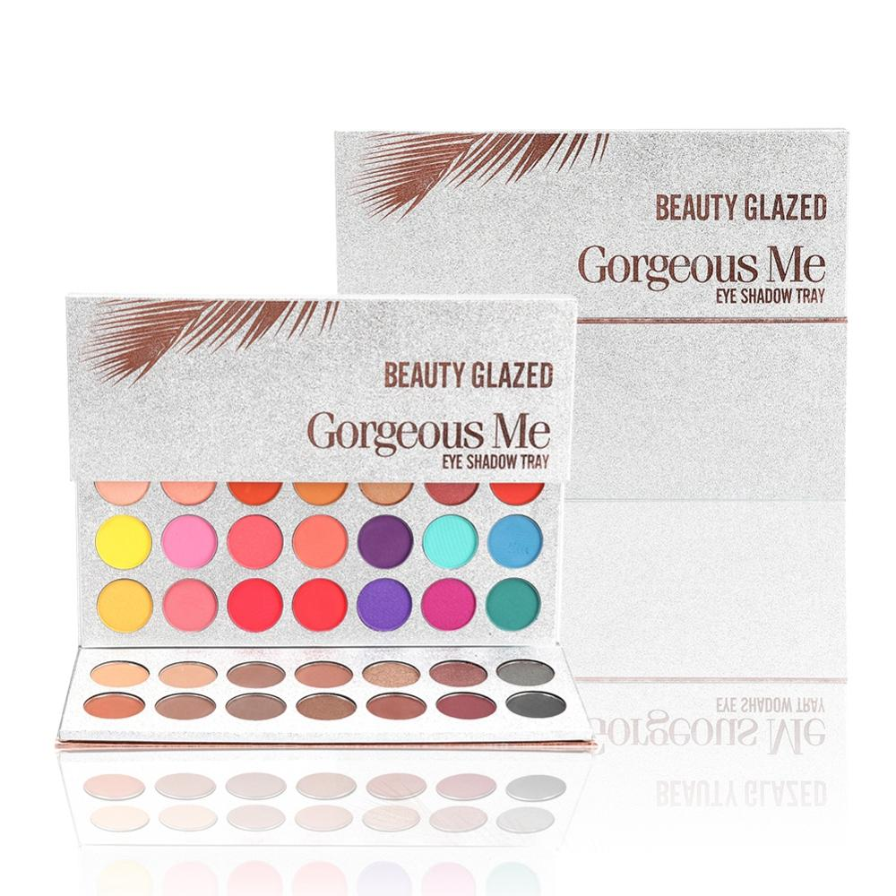 Beauty Glazed Makeup Matte Eyeshadow Palette 63 Colors Make up Palette Charming Eyeshadow Pigmented Eye Shadow Powder