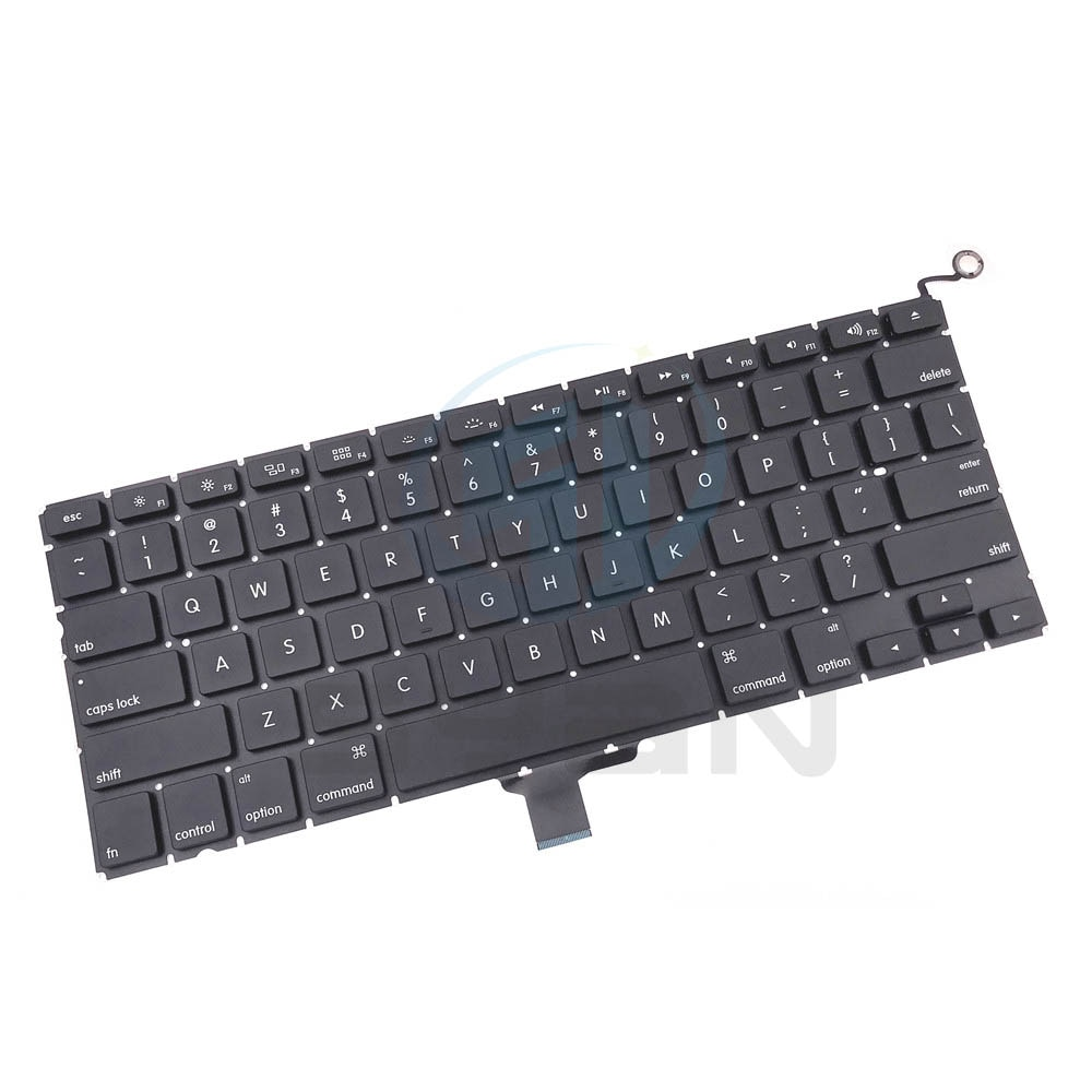 US A1278 keyboard with backlight for Macbook pro 13.3 inches laptop MD101 MD 102 keyboards with back