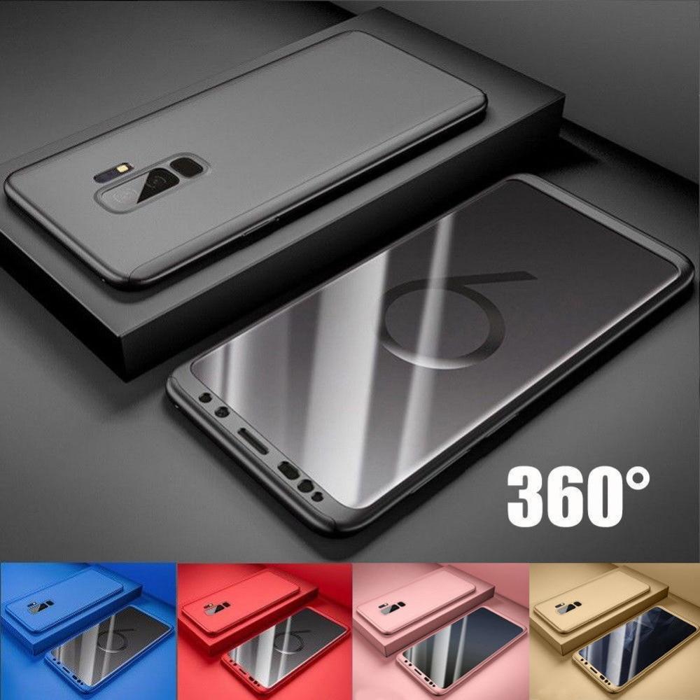 S9Plus przypadku 360 całego ciała Coverege etui do Samsung S8 Plus S9 S7 S6 krawędzi Note8 Note9 J3 J5 J7 A3 A5 A7 Note3/4/5 J5 J7Prime Cas