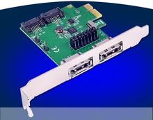 2 Porte Interne SATA 3.0 PCI-Express Host Controller Card + 2 Porte eSATA Esterne