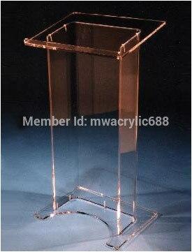 Pulpit furnitureFree Shipping High Soundness diseño moderno barato acrílico claro atril