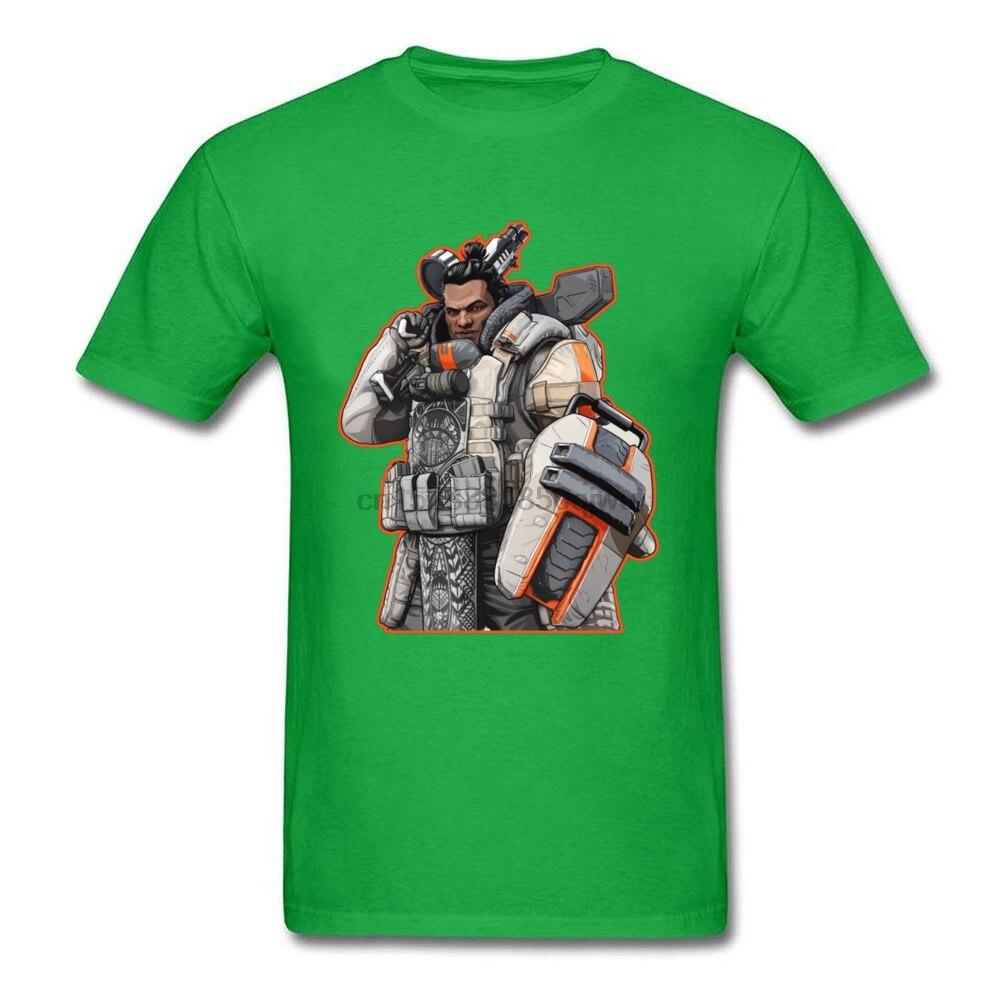 Roupas apex legends gibraltar impressão 3d t camisa verão outono 100% algodão crewneck camisetas dos homens de boa qualidade camisa nova