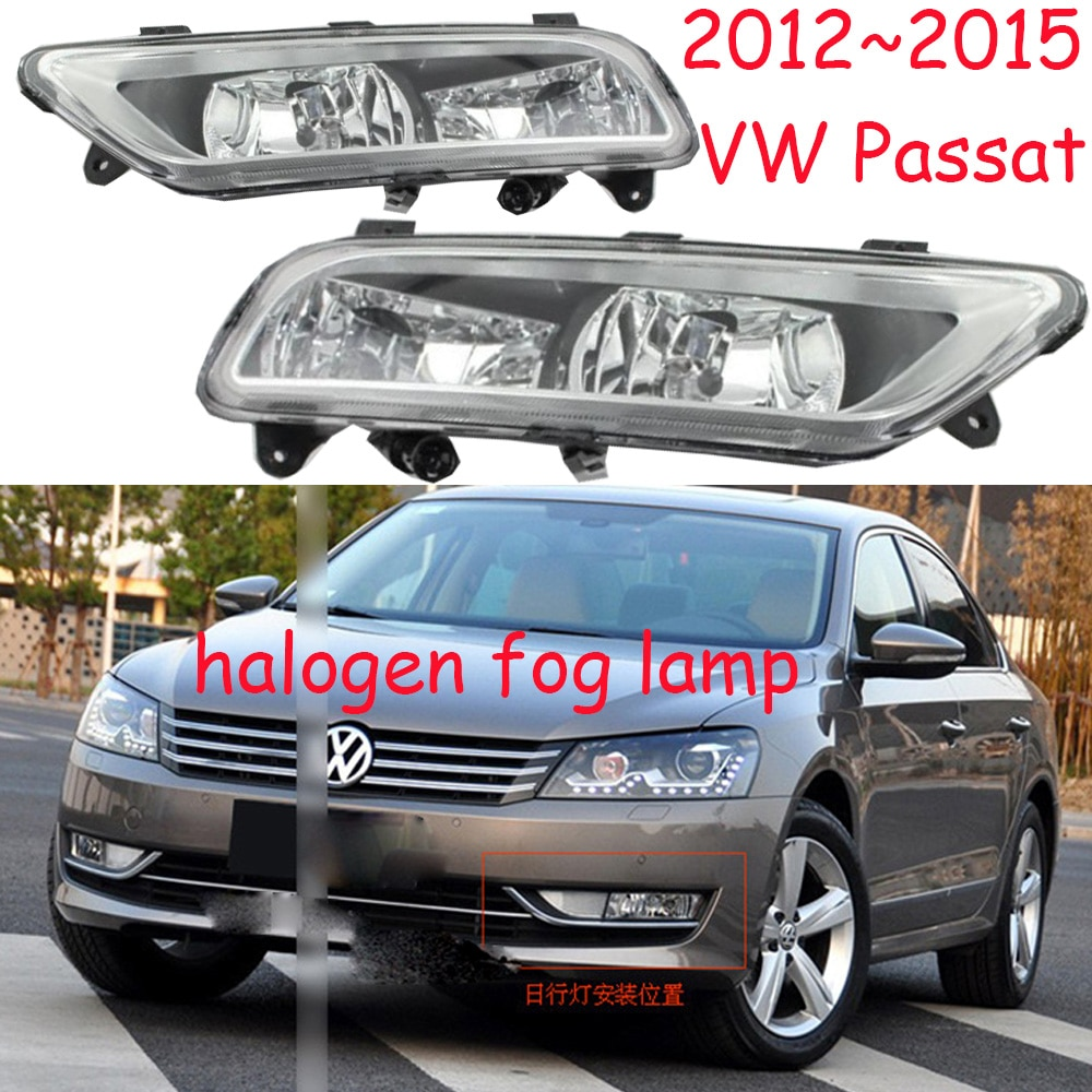 Luz de día Passat 2012 ~ 2015, Passat luz antiniebla, faro Passat, sharan,Golf7,routan,polo,magotan, luz trasera Passat, Passat B7