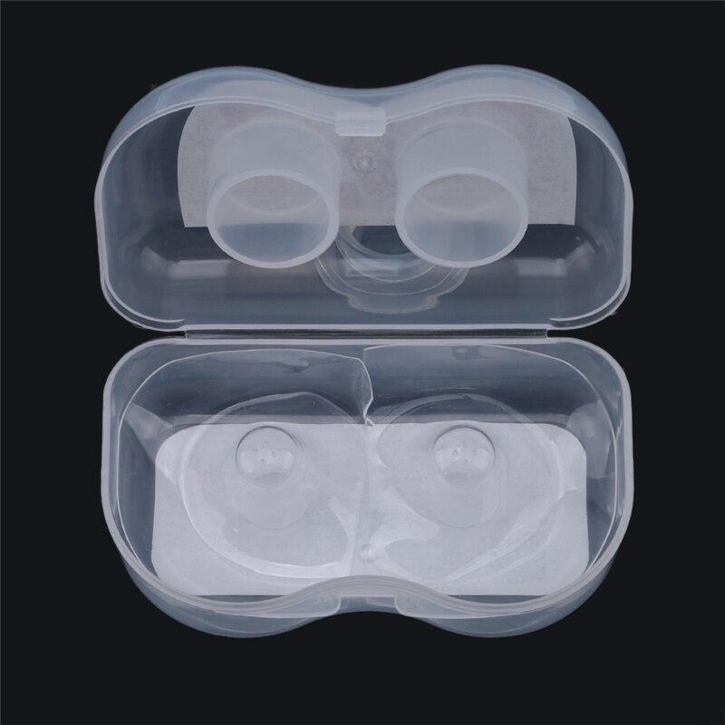 ¡Novedad! Protector de silicona para pezón de mujer embarazada de gran calidad, Protector de boquilla de Gel de sílice, lactancia materna de bebé, dos por caja