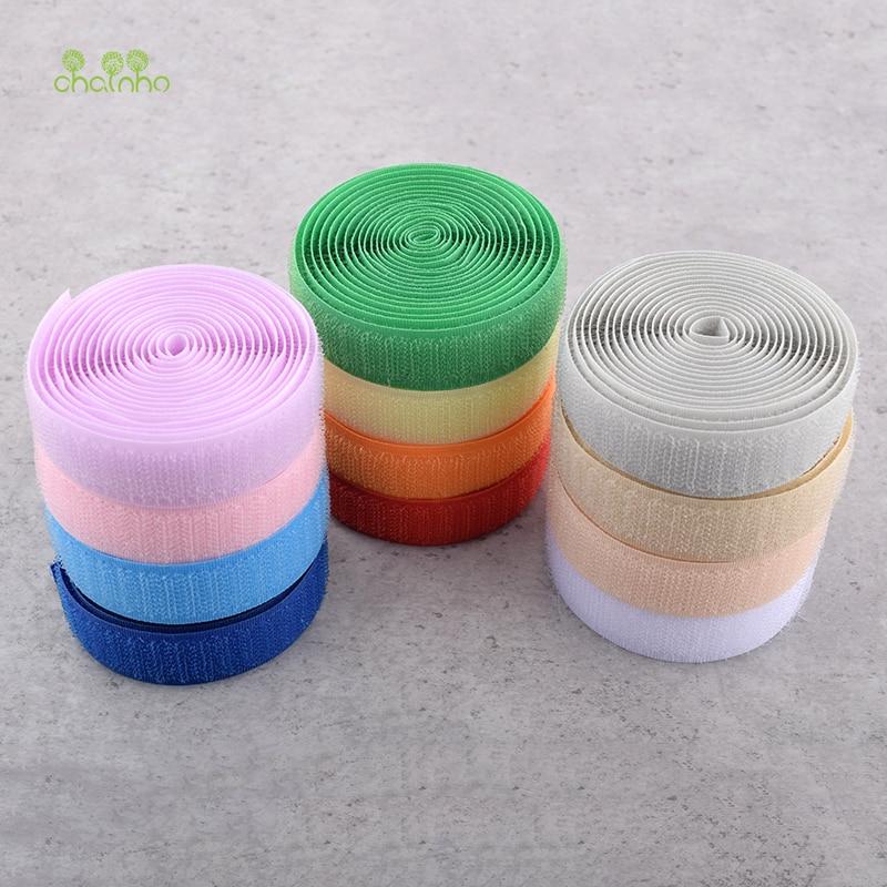 Chainho,1Yard/Lot,Nylon Soft Magic Tape,Hook&Loop Fastener,For Garments/Wrist Harness/Computer&Earphone Winder Cable Ties,DA009