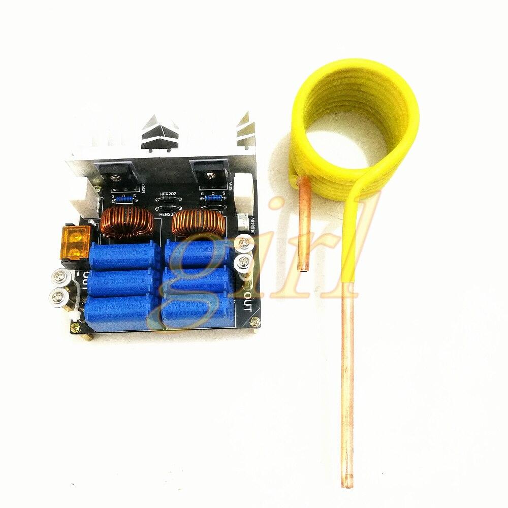 ZVS-آلة التسخين بالحث عالي التردد ، آلة التسخين بالحث ، فرن التردد المتوسط ، بدون صنبور ZVS