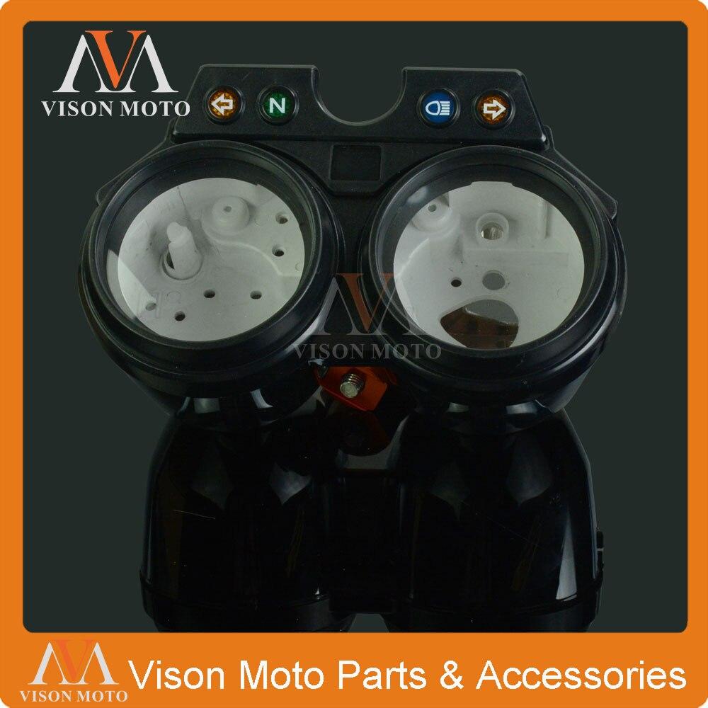 Medidor de velocidad, reloj, caja de instrumentos, medidores, odómetro, tacómetro, carcasa, cubierta para HONDA HORNET 250 HORNET250 00-08