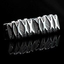 MMS luxe français boutons de manchette pour hommes bijoux argent sculpté boutons de manchette haut de gamme gemelos haute qualité abotoaduras concepteur