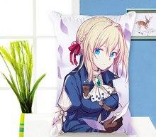 Anime japonais dakimakura étui Violet Evergarden Rectangle taie doreiller taie doreiller noël oreiller couvre taie doreiller cosplay