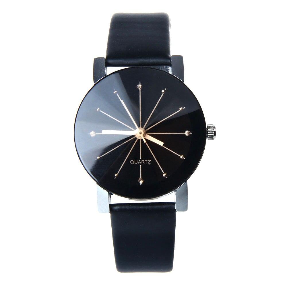 2018 Harajuku style Fashion Quartz Lovers Watch kobiet zegarka Men Watches Ladies Casual Wristwatch
