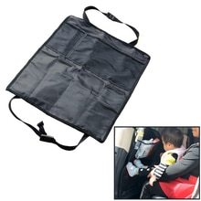 Housse de dos pour siège de voiture   Noir, protection de voiture, coussin Anti-coups de voiture, pour enfants, bébés enfants, protection de voiture
