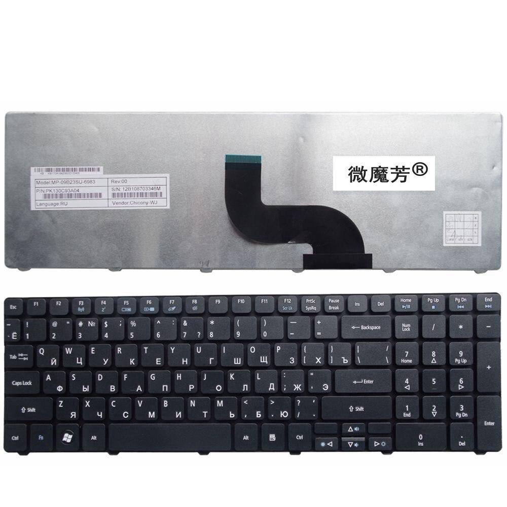 Ruso teclado del ordenador portátil para Acer para Aspire 7735, 7551, 5336, 5410, 5536, 5738g 5252G 7740G 7750G 7750G 7750ZG 7235 de 7235g 7250G 7250G.