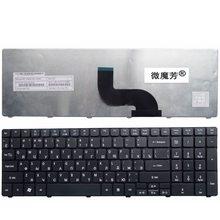 Clavier dordinateur portable russe pour Acer pour Aspire 7735 7551 5336 5410 5536g 5738 5252G 7740 7750 7750G 7750ZG 7235 7235G 7250 7250G RU
