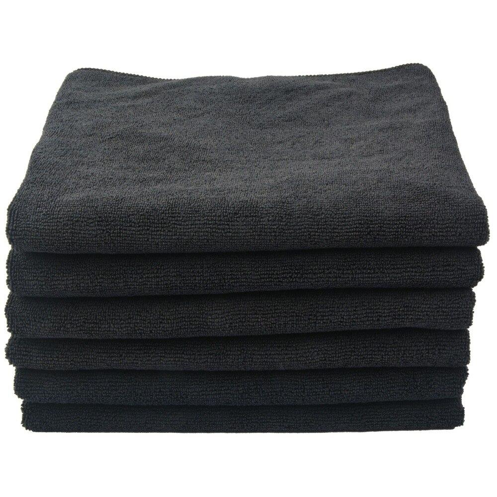 Ultragrueso de microfibra de mano salón toalla secado toallas Toalla de baño para hoteles Spa en casa 16 pulgadas x 27 pulgadas 20 paquetes de blanco y negro