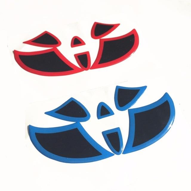 Передняя Задняя эмблема на рулевое колесо, логотип, Наклейка для Toyota Highlander Camry Corolla RAV4 Prado Reiz Dazzle Vios Crown