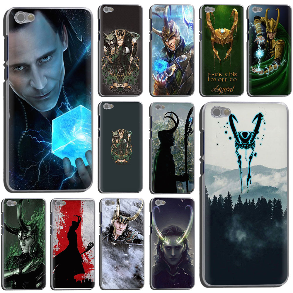 Marvel vengadores héroe Loki Thor duro caso de la cubierta del teléfono para Xiaomi Redmi 8A K20 5 Plus ir 6A Nota 8 5 6 Pro 4x 7