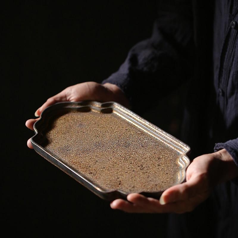 TANGPIN bandeja de té de cerámica japonesa herramientas de té de kung fu chino accesorios de té