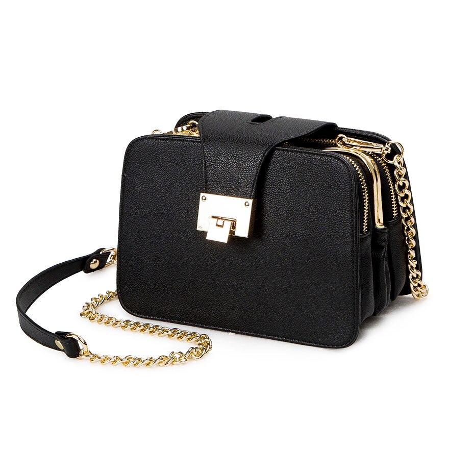 2021 Spring New Fashion Women Shoulder Bag Chain Strap Flap Designer Handbags Clutch Bag Ladies Messenger Bags With Metal Buckle