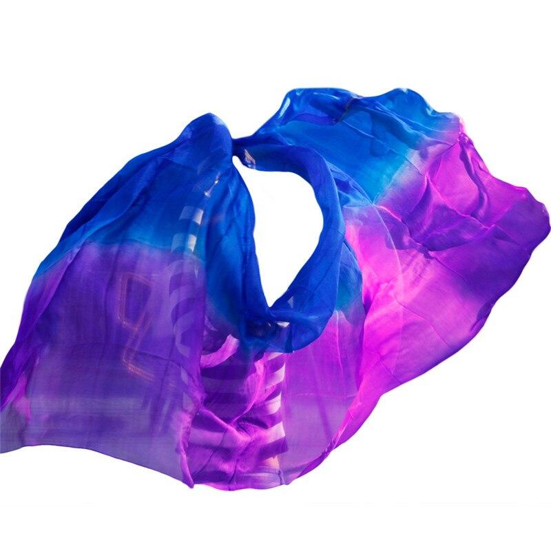 Женские танцевальные вуали высокого качества, аксессуары для танцев, 100% шелк, вуаль для танца живота, опт, размер и цвет, можно заказать на за...