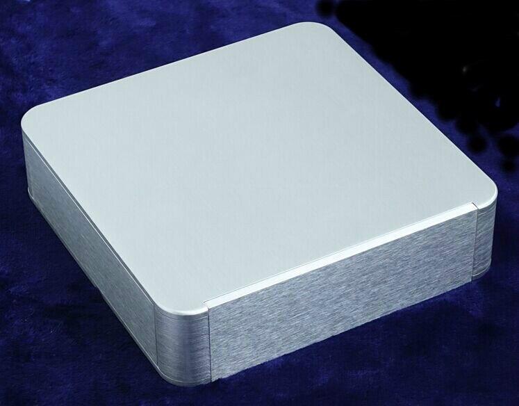 BZ2205F Arredondado Completa alumínio Caixa AMP caso chassis DAC Preamp/PSU box