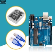 UNO R3 Offizielle Box ATMEGA16U2 + MEGA328P Chip Für Arduino UNO R3 Entwicklung bord