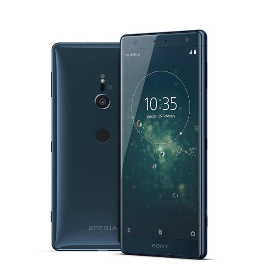 "Original nuevo Xperia XZ2 H8296 4G LTE teléfono móvil 5,7 ""6GB RAM 64GB ROM Octa Core 3180mAh huella dactilar Android Dual SIM teléfono móvil"