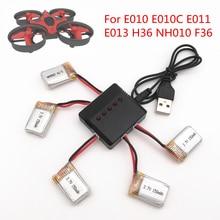 3/4/5 pièces 3.7V 150MAH pour Eachine E010 E011 E013 F36 H36 RC quadrirotor pièces Lipo batterie pour caméra RC Drone