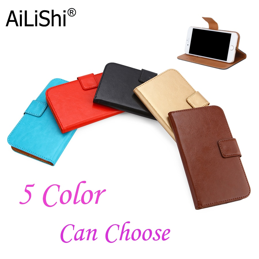 AiLiShi Case For Fly Power Plus XXL FS530/1 FS521 /FHD FS554 /2 FS526 Luxury Leather Case Flip Cover Phone Bag Wallet Holder