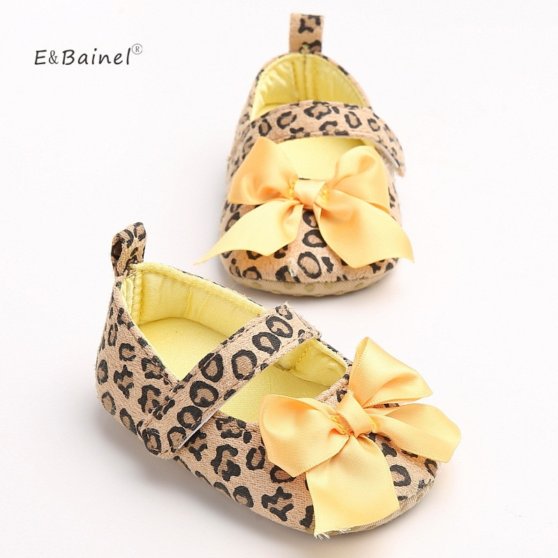 Toddler Baby Girls Shoes Floral Leopard Infant Soft Bottom Shoe Cotton First Walkers Baby Shoes