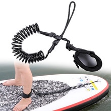 Accessoire de surf 10ft TPU planche à pagaie corde SUP cheville laisse planche de surf enroulée Stand UP Paddle Board