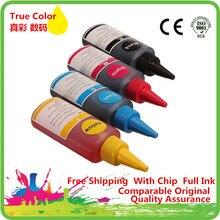 Kits de Kit dencre de colorant de recharge Co pour imprimante rechargeable Epson stylet S20/S21/SX100/SX110/SX105/SX115/SX200/SX205/SX209/SX210