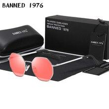 2019 HD Polarized Polygonal Sunglasses Women man Glasses Lady Luxury Retro Metal cool Sun Glasses Vintage Oculos Feminino UV400