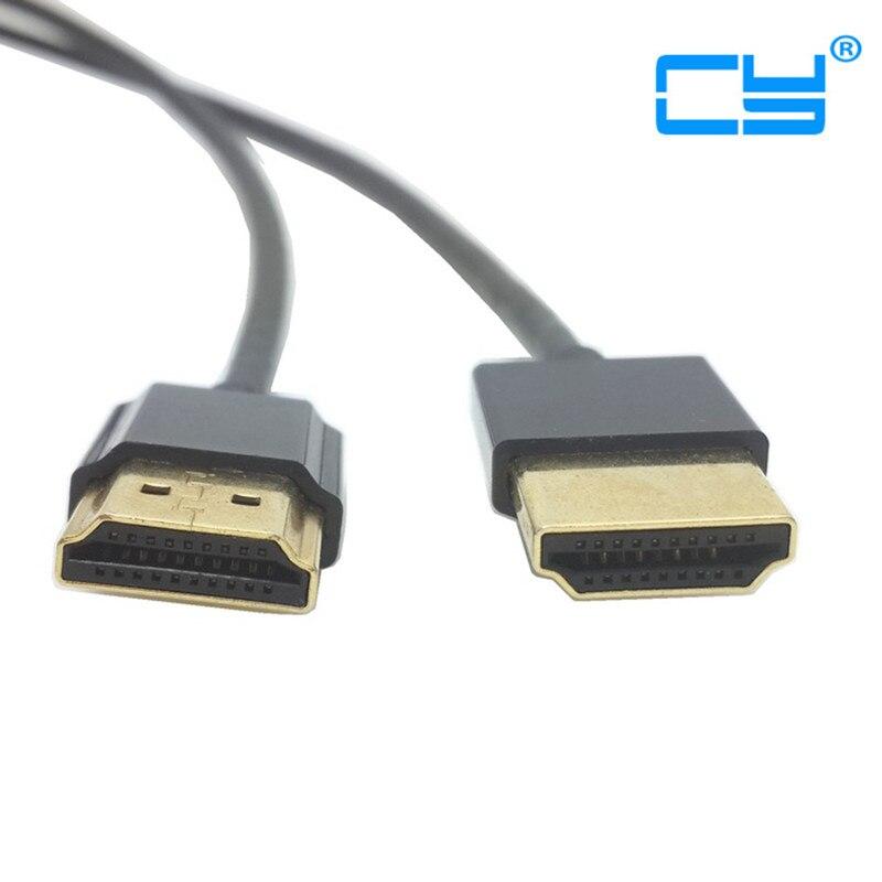1M/3FT OD 3mm super suave estándar HDMI 1,4 V macho a HDMI...