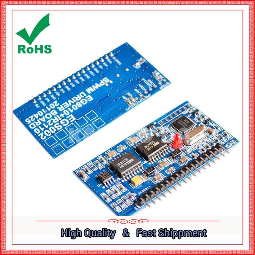 "Tarjeta de controlador inversor de onda sinusoidal pura EGS002 ""EG8010 + IR2110"" Módulo regulador"