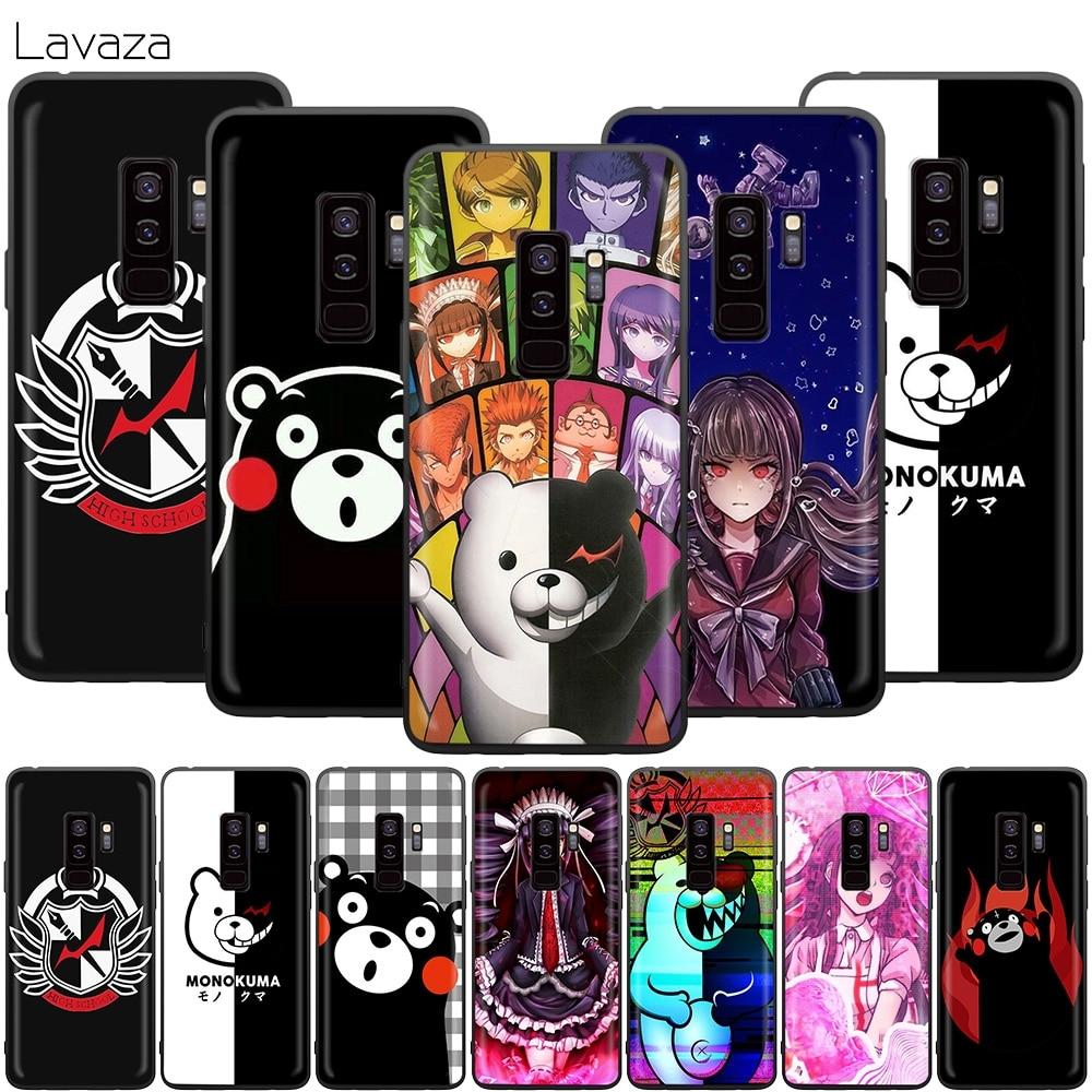 Чехол Lavaza Kumamon Danganronpa Monokuma для Samsung Galaxy S10 S9 S8 S7 S6 Plus Note 9 8 M30 M20 M10 Edge