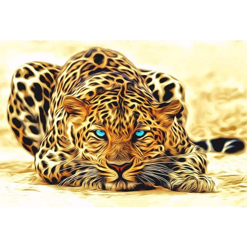 Guetah listo para golpear pintura hecha a mano lienzo de alta calidad hermosa pintura por números regalo sorpresa gran logro