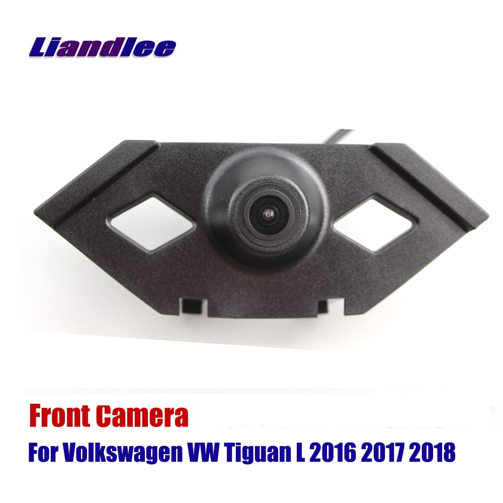 Liandlee Car Front View Camera For Volkswagen VW Tiguan L 2016 2017 2018 Logo Embedded ( Not Reverse Rear Parking )