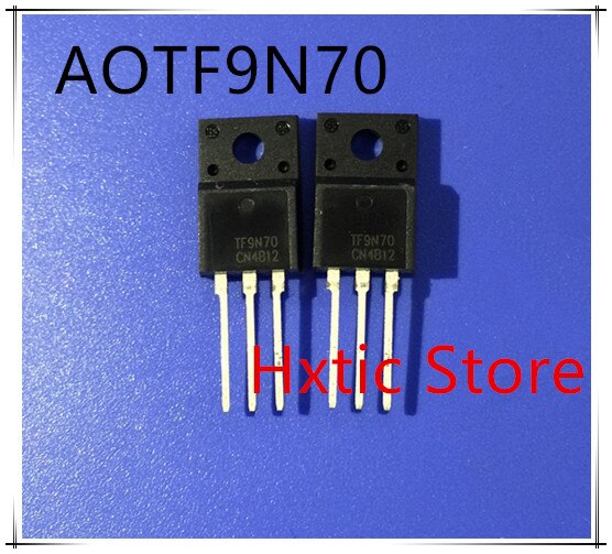 10 PCS AOTF9N70 TF9N70 9N70 TO-220F