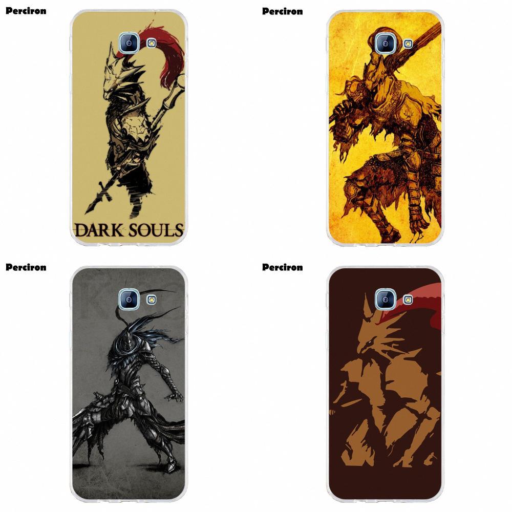 Perciron Soft TPU Pattern Pink For Samsung Galaxy A3 A5 A7 J1 J2 J3 J5 J7 2015 2016 2017 Action Role-playing Dark Souls Stylish