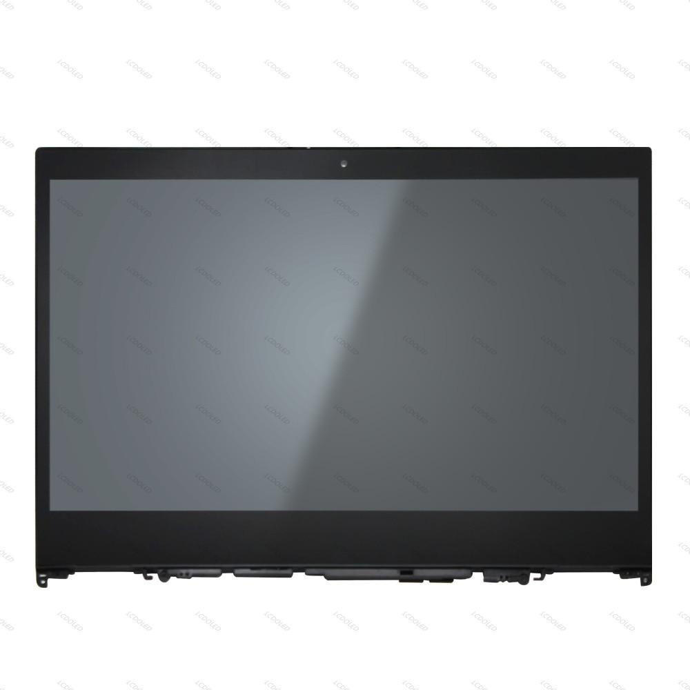 Pantalla LCD digitalizador de cristal táctil IPS FHD de 14 pulgadas montaje NT140WHM-N44 NV140FHM-N49 para Lenovo Flex 5 14 Yoga 520-14IKB