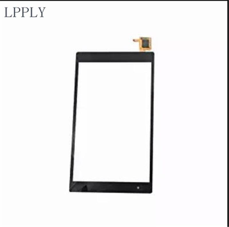 LPPLY Black For Lenovo Tab4 8 Plus TB-8704X TB-8704 tb-8704X tb-8704n tb-8704f tb-8704n Touch Screen Digitizer Front Glass Lens
