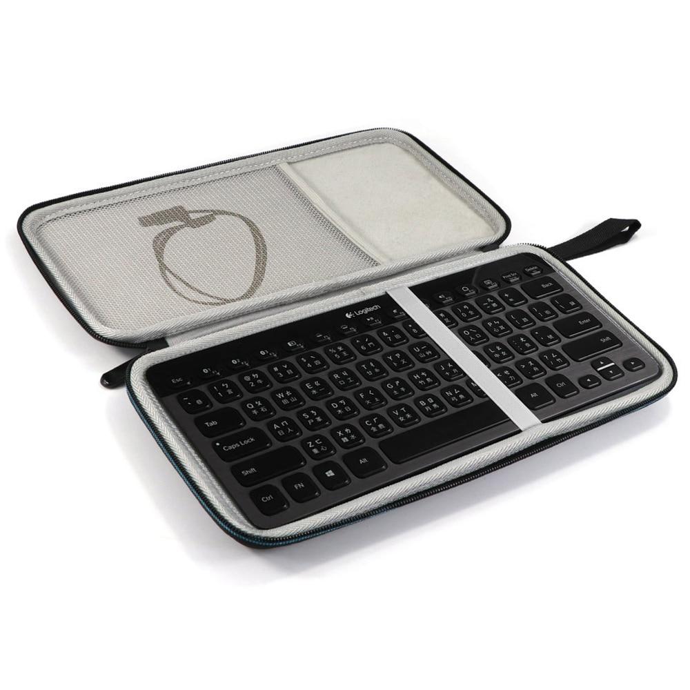 Estuche rígido de viaje para teclado Bluetooth Logitech K810 920-004292 K811 920-004161