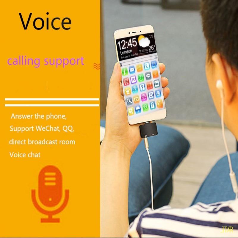 El adaptador de audio de carga de 10 piezas tipo c dos en uno es adecuado para el teléfono móvil Letv mijo adaptador de carga de audio al por mayor