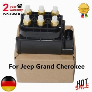 AP01 Air Suspension Air Pump Supply Solenoid Valve Block For Jeep Grand Cherokee 68087233AA